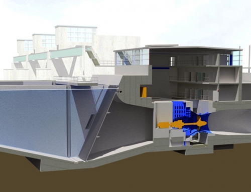New hydropower station Kostheim